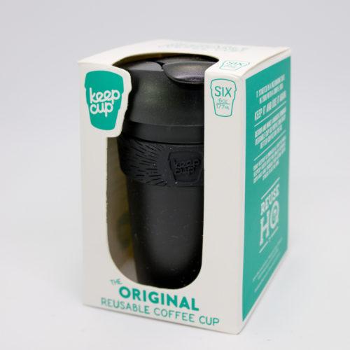 Black Plastic Keep Cup