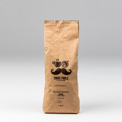 Costa Rica Coffee One Kilogram Coffee Bag